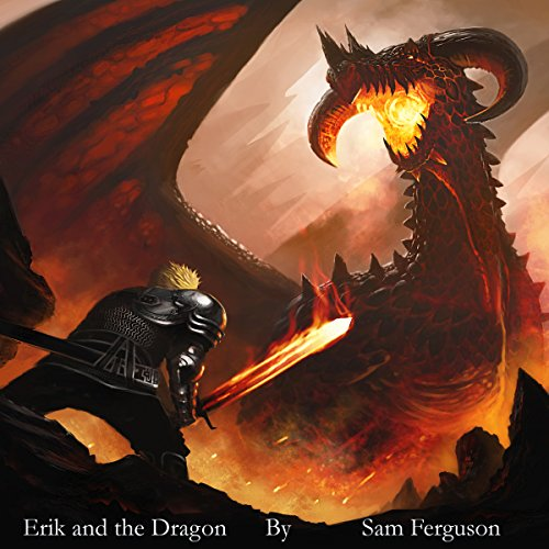 Erik and the Dragon audiobook cover art
