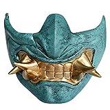 Best Japanese Mascaras - Japanese Prajna Samurai Mask Fangs Tactical Airsoft BB Review