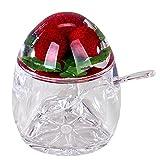 Design Marmeladendose Himbeere Retro Sil Dose aus Acryl für Marmelade