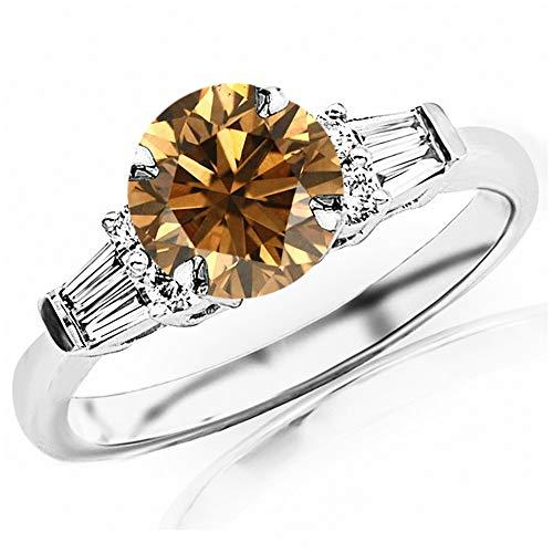 0.85 Ct Tw Round Diamond - 7