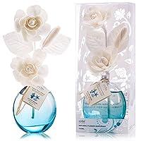 誕生日 プレゼント に A03 ルームフレグランス (花瓶:水色、香り:海洋)