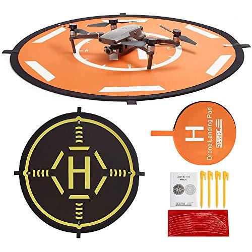 STARTRC Drone Landing Pad,80CM Helipad Dronepad per DJI FPV/DJI Air 2S /Mavic Air 2/ Mavic Mini/Mavic Mini 2/Mavic 2/DJI Phantom 3/4