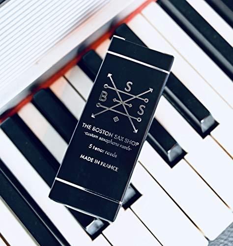 Boston Sax Shop Custom Tenor Saxophone Reeds (#2.5 box of 5)