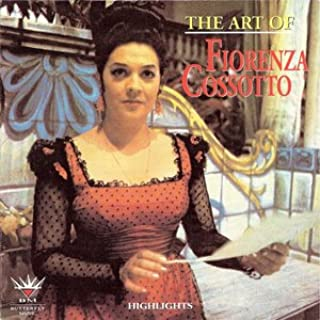 The Art of Fiorenza Cossotto - Rare Live performances on Butterfly CD