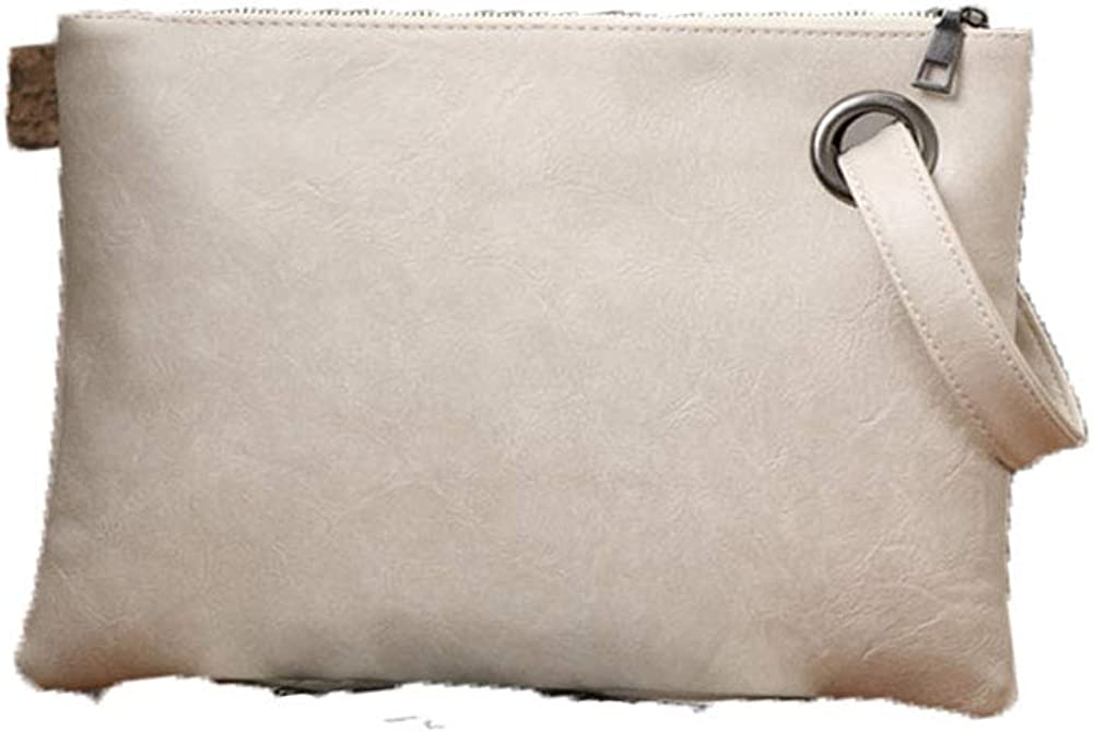 Andongnywell Oversized Envelop Bag Wristlet Clutch Purses for Women Evening and Daily Casual Wristlets Handbag