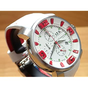 I.T.A.(アイティーエー)/カサノバクロノ日本限定モデル/ROSSO(ロッソ)/メンズ腕時計/ita127015