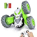 Remote Control Car RC Stunt Car Toys with Double Sided 360° Rotating Vehicles 2.4GHz 1:28 Super...