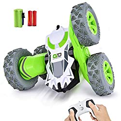 top 10 rc cars RC stunt car, remote-controlled vehicle 360 ​​° rotating double-sided rotating vehicle, 2.4 GHz 1:28 super …