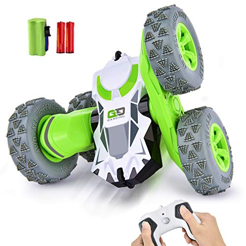 Remote Control Cars   RC Car Toys 4WD Stunt Car 360° Rotating Toy CRADREAM 2.4GHz Remote Controls...