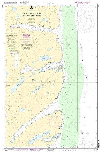 NOAA Chart 17333: Ports Herbert, Walter, Lucy and Armstrong by OceanGrafix