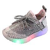 Babyschuhe mit Licht LED Jungen Mädchen Unisex Baby Kinder Sneaker Lauflernschuhe Sport Schuhe Kinder Baby Mädchen Letter Led Licht Leucht Sport Sneaker Running Sport Shoes