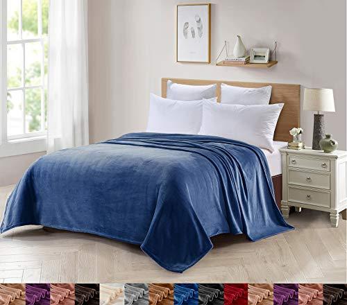 Foren Tex Manta para sofá y Cama de Franela (S-3099) 300GMS Sin Pelusas No Suelta Pelo Tacto Suave y Cálida Varios Tamaños y Colores (130x150cm)
