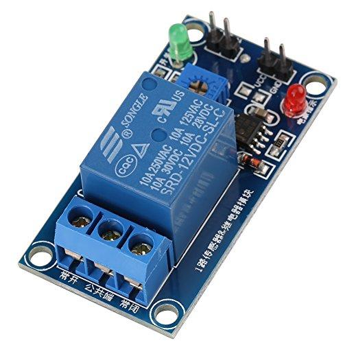 Preisvergleich Produktbild DC 12V Leaf Wetness Regensensor Relais Feuchteregler Wettermelder Modul Automatisches Bewässerungsmodul für Arduino