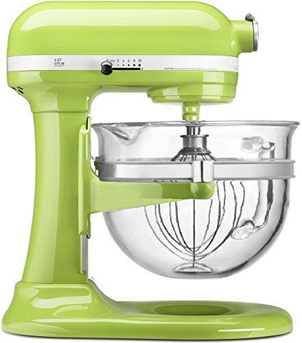 KitchenAid KF26M2XGA 6-Qt. Professional 600 with Glass Bowl Green Apple