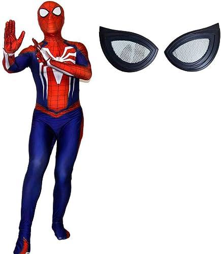 tienda COSTUME Super Fantasia Spider-Man 3D Cosplay Cosplay Cosplay Medias elásticas Disfraz de Halloween Disfraz de Bola Disfraces de Rendimiento Accesorios de la película de Disfraces ( Color   azul2 , Talla   M )  primera reputación de los clientes primero