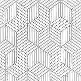 Wenmer Geometric Hexagon Wallpaper 17.71' x 118' Geometric...