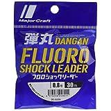 メジャークラフト ライン 弾丸フロロショックリーダー DFL-0.8/3lb 0.8号(3lb)30m
