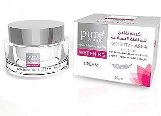 pure beauty Whitening Sensitive Area Skin cream - 50g