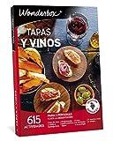 WONDERBOX Caja Regalo -Tapas Y VINOS- 615 Actividades gastronómicas para Dos Personas