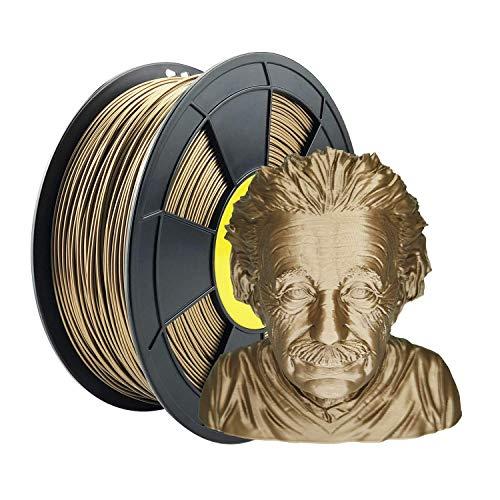 ZIRO Filamento para impresora 3D PLA PRO Metal Series 1.75 1KG (2.2lbs), Precisión dimensional +/- 0.03mm,Cobra