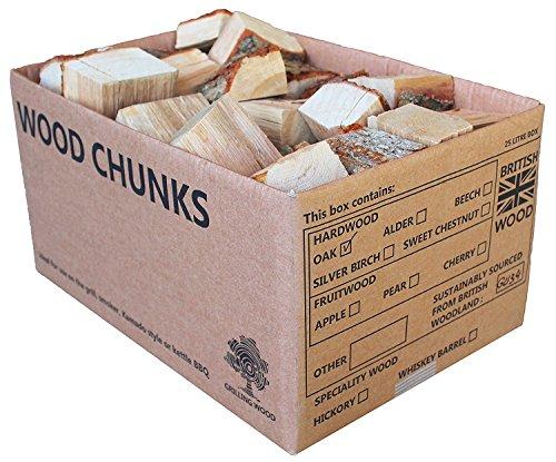 Apfelholzstücke für den Grill oder zum Räuchern