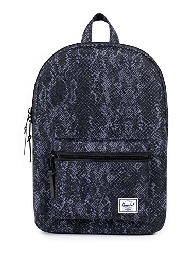 Herschel - Casual day Pack Unisex adulti , Black Snake/Rubber (Multicolore) - 10033-00735-OS