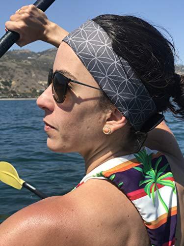 The Good Tides Schwimm-Haarband für Damen und Herren Goodbye unbequeme Badekappe, Hello voll verstellbares Schwimmkopfband mit Klettverschluss und wasserdicht, schwarz, Erwachsene