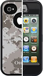 OtterBox Defender Series Military Camo for iPhone 4 and 4S - Retail Packaging - Blizzard Design (Discontinued by Manufacturer)