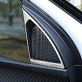 Molduras Interiores de Coche For accesorios del coche 3008 5008 2017 2018 Pilar coches de estilo constructivo A-Audio altavoz de agudos cubre el ajuste accesorios interiores Interior Accessories del c