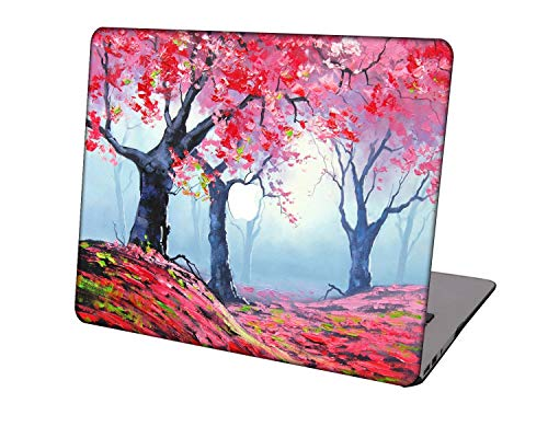 Laptop Case for MacBook Air 13 inch Model A1932/A2179/A2337,Neo-wows Plastic Ultra Slim Light Hard Shell Cover Compatible MacBook Air 13 inch 2018-2020 Release,Landscape A 55