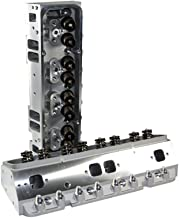 Assault Racing Products SBC20064SC943-7/16 Small Block Chevy Complete 205cc Cylinder Heads Straight Plug 7/16