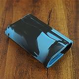 ModShield for Joyetech Cuboid 200W TC Silicone Case ByJojo Sleeve Cover Wrap Skin Shield (Blue/Black)