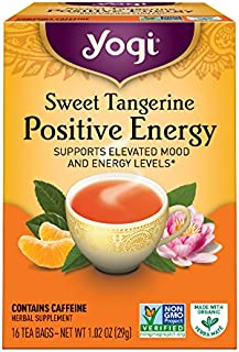 Yogi Tea Sweet Tangerine Positive Energy, 16 ct
