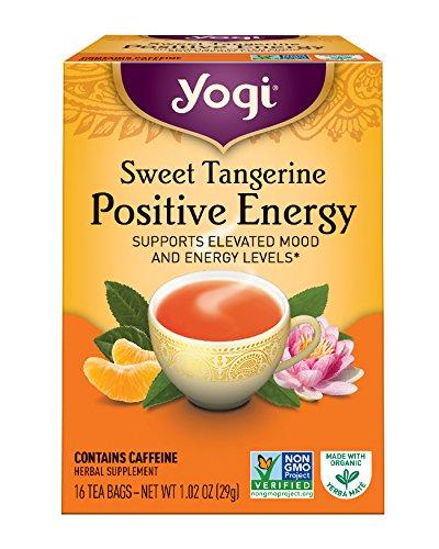 Yogi Tee, Positive Energie, Sweet Tangerine, 16 Teebeutel, 1,02 Unzen (29 g)