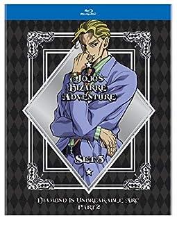 JoJo#s Bizarre Adventure Set 5  Diamond Is Unbreakabe Part 2  BD  [Blu-ray]