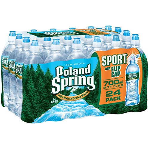Poland Spring Water ,Sport with Flip Cap 23.7 Oz ( Pack of 24 )