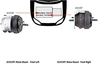 Best 2008 cts motor mounts Reviews