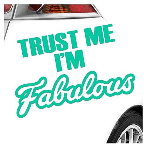Kiwistar Trust me Autocollant 25 Couleurs Fluo Mat