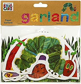 World of Eric Carle, The Very Hungry Caterpillar Party Supplies, Garland Decoration, Paper, 3M - TVHC-GARLAND