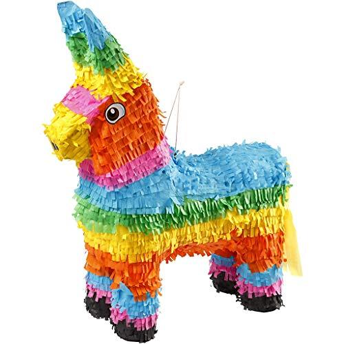 CREATIV 20828 Party Piñata, dimensioni 39x13x55 cm, colori vivaci, 1pc