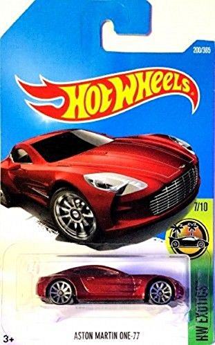 Hot Wheels 2017 HW Exotics Aston Martin One-77 200/365, Maroon
