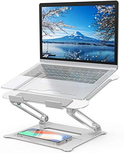 Adjustable Laptop Stand FYSMY Ergonomic Portable Computer Stand with Heat Vent to Elevate Laptop product image
