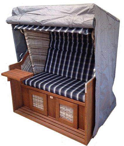 Comfort Premium Housse pour fauteuil-cabine Gris 128 x 105 cm