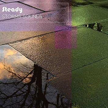Calm & Steady Storm Sounds