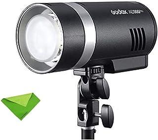 Godox AD300Pro 300Ws Luz estroboscópica portátil 2.4G TTL 1/8000 HSS 320 Veces Flash de Potencia 0.01~1.5s Tiempo de Recic...
