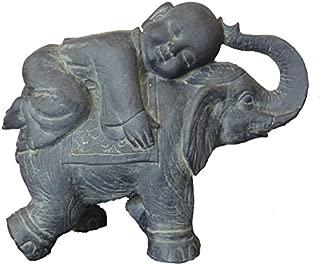 Hi-Line Gift Ltd Buddha Child on Elephant, 17