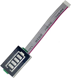 Hobbysky Controller Box ESC Box + Heat Sink Aluminum + Battery Indicator+Light (LED) Control Module for Electric Skateboard Longboard Esk8
