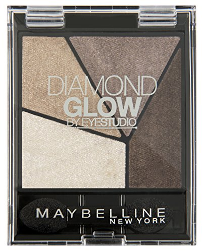 Maybelline New York Lidschatten Eyestudio Quattro Diamond Glow Palette Coffee Drama 06 / Eyeshadow...