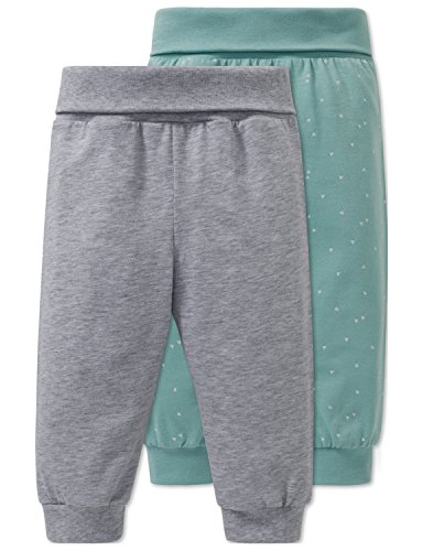 Schiesser Schiesser Baby-Jungen 2pack Hosen lang Schlafanzughose, Mehrfarbig (Sortiert 1 901), 62 (2er Pack)