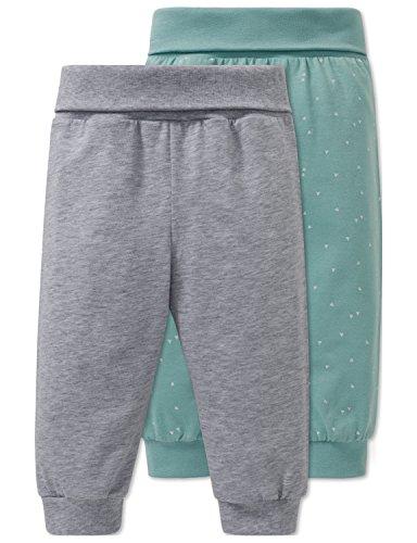 Schiesser Baby-Jungen 2pack Hosen lang Schlafanzughose, Mehrfarbig (Sortiert 1 901), 62 (2er Pack)